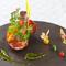 新鮮な魚介や完全有機野菜など、すべての食材が主役