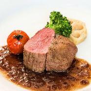 仔牛フィレ肉のステーキ