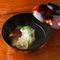 ふくよかな香りもご馳走『ぼたん鱧と三田の松茸の椀物』