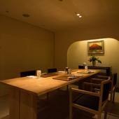 お座敷3室とテーブル席1室、趣の異なる個室を4室ご用意