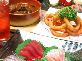毎日仕入れる新鮮な食材を使った料理をご提供