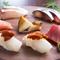 鮮度抜群。季節の魚が6~7種食べ比べできる『お造り盛り合わせ』