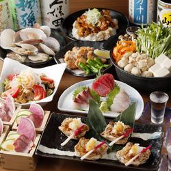 2時間の飲み放題がついて税抜4,000円というコストパフォーマンス抜群な宴会コースです。