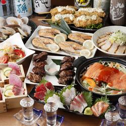 2時間の飲み放題がついて税抜5,000円というコストパフォーマンス抜群な宴会コースです。