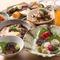 魚介、野菜、肉とも、季節の味わいを感じられる旬の素材を厳選