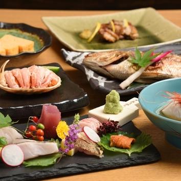 季節食材で彩るコース 6,000円コース