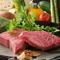 『国産和牛と新鮮野菜』
