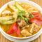 ハノイ名物、野菜と豚足のシンプルな味わい『ブンブン(豚足とハスイモのビーフン)』