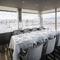 景色と共に食のひとときを満喫するプライベートルーム