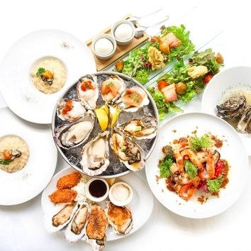 <オイスターバーの牡蠣宴>カジュアルコース