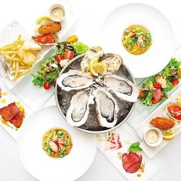 <オイスターバーの牡蠣宴>シーズナルコース