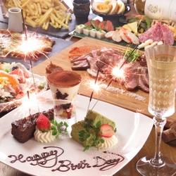 燻製バルモトカラ初の食べ放題コース!豚シャブ食べ放題、もつ鍋食べ放題!お好みのお鍋をお選び下さい!