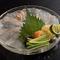 玄海、大分、長崎など九州の新鮮な地物を味わえる『お造り』