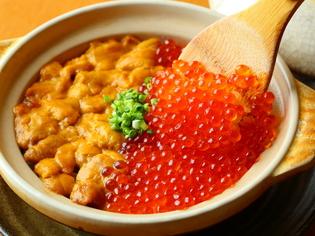 『うにいくら御飯』の濃厚ないくらとウニ、粒が立った米の一体感