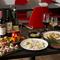 和洋折衷の創作料理と飲み放題2時間付き 宴会・女子会・同窓会などにおすすめ! お一人様4,500円(税込み)