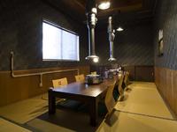 接待や会食などでの利用に最適な個室や半個室