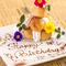 【誕生日サプライズ特化店】先着5組様にデザートプレート贈呈