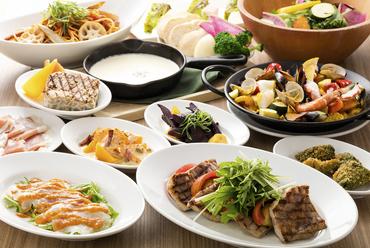パーティにおすすめ! 選べる宴会プランをご提案 貸切可・着席75名様・立食100名様までOK!