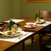 四季折々、または人生の節目ごとのさまざまな料理を提供