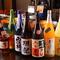 全国の名蔵元の地酒を幅広く揃え、おいしい果実酒も豊富