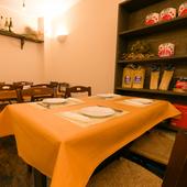 おしゃれな大人の女性が集う、癒しのイタリアンレストラン