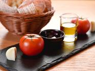 季節のスープとお野菜の盛り合わせ