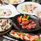 旬食材を使用したコース料理の数々!