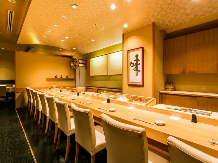 寿司幸別館 イッキュウの内観