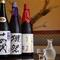銘酒と謳われる日本酒がずらり