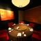 プレミアムなムード漂う円卓個室は、接待に最適