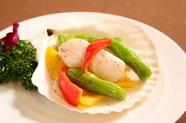 大海老独特のプリッとした食感に魅了される『大海老のチリソース』