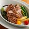 大原野の野菜を添えたメイン料理『京都加都茶豚のロースト』
