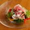 生ハムと彩野菜のサラダ