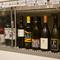 豊富に揃うワインや紹興酒はどれでも一本2900円