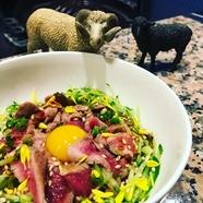数量限定! 多彩な味が楽しめる『国産羊肉ホルモン盛り合わせ』