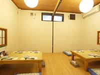 落ち着いた雰囲気のなかで、鳥取の地酒や食材をご堪能ください