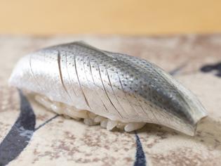 職人の個性が出る、江戸前寿司の定番ネタ『小肌』
