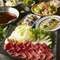 熟成肉の食べ比べができる3種盛り合わせも付いて、豪華内容で彩る一押しコースです!