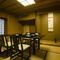 和室をつなげて最大26名対応も可能。大人数利用にも便利な個室