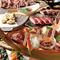 厳選された牛、馬、鴨のお肉で創る肉寿司はうなるほどの絶品。