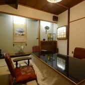 和風情緒ゆかしい全室個室で専用洗面所も付いてます