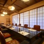 栃木市の中心街にほど近く、JR栃木駅や新栃木駅からのアクセスも便利でありながら、静かで落ち着いた全室個室は魅力的。慶事ごとや忌事など各地から集まる際にも利用しやすく人気です。