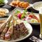 食べ飲み放題¥3200円・選べるお鍋コースも人気です¥3700円