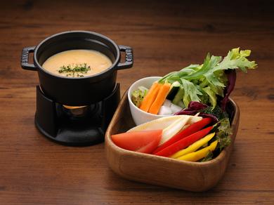 コクがあるしっかりした味わい『新鮮野菜のバーニャカウダ』