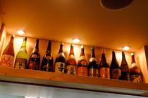 日本酒の種類が充実。仕事終わりの一杯に