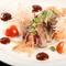 地元の季節鮮魚を使った『地魚のカルパッチョ』