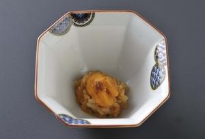 北海道産の絶品バフン雲丹を使った『雲丹御飯』 ※コースの一例