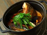 海の恵みを味わい尽くせる『新沼港直送朝採れ鮮魚のブイヤベース』
