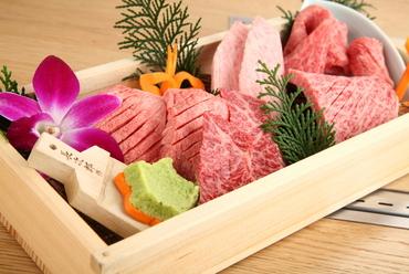 柔らかいお肉を食べ比べできる『にく匣 こころいき(特選 230g)』