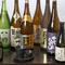 魚に合う地酒はもちろん、地焼酎や地ビールも揃える
